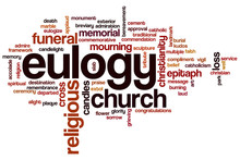 Eulogy Word Cloud