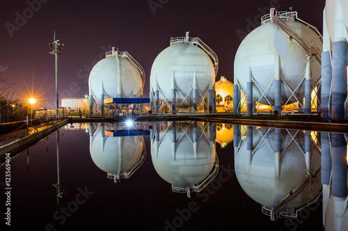 Photo  Natural Gas Tank