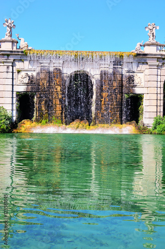 Fountain of The Royal Palace of Caserta Poster