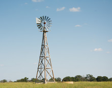 Windpump With A Watertank At T...