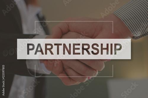Fotografia  Concept of partnership