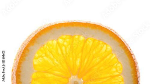 Spoed Foto op Canvas Plakjes fruit orange slice