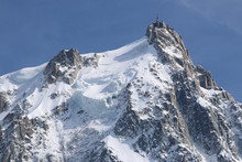 Aiguille De Midi. Chamonix. Frankreich