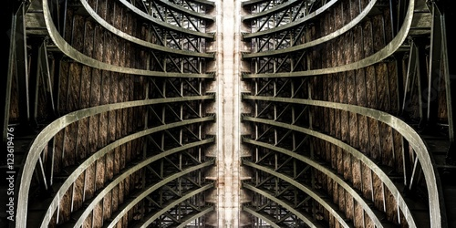 Symétrie Fototapeta
