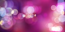 Purlle Magic Lights Background