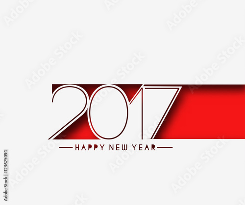 Happy new year 2017 Background Fotomurales