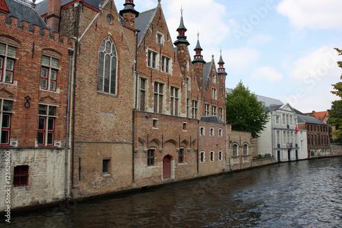 Poster Brugge Canal au coeur de la Bruges médiévale, Belgique