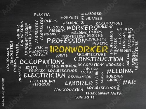 Valokuvatapetti Ironworker