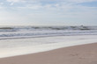 beautiful landscape summer sea with sand beach