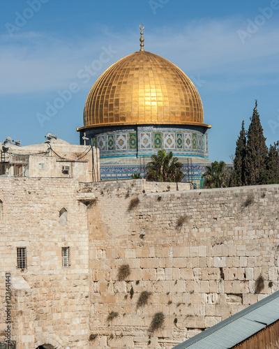 Poster Moyen-Orient jerusalem golden dome