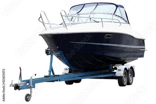 Modern boat.