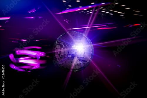 Zdjęcie XXL Koncepcje tła disco.