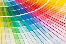 Open Pantone Sample Colors Catalogue.