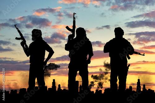 Fotografía  Terrorist concept