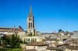 view of Saint Emilion, Bordeaux, France