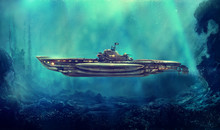 Fantastic Pirate Submarine In ...