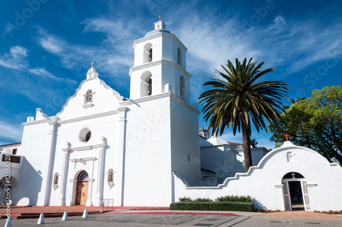 Old San Luis Rey Mission California Canvas Print