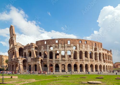 Fotografie, Obraz  Koloseum, Rzym, Włochy