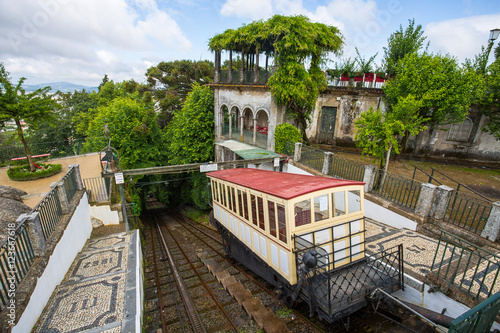 Fotografie, Obraz  Funicular of Braga, Portugal