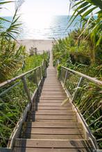 Schody - Zejście Na Plażę - Włochy