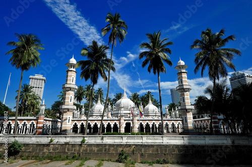 Poster Kuala Lumpur Jamek Mosque, Kuala Lumpur, Malaysia.