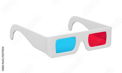 Photo 3D Glasses Isolated