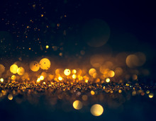 Glitter Lights Grunge Background, Glitter Defocused Abstract Twi