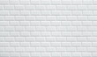 Leinwandbild Motiv white ceramic brick tile wall