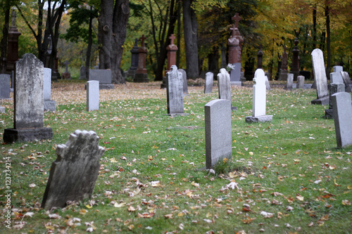 Keuken foto achterwand Begraafplaats cimetière