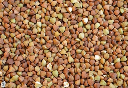 Fotografie, Obraz  Buckwheat groats -texture or background