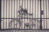 Kwiatowy rower - 123759650