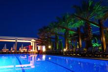 Luxury Hotel Resort In The Night