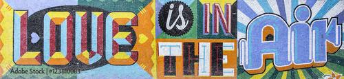 Poster Buenos Aires Wall mosaic
