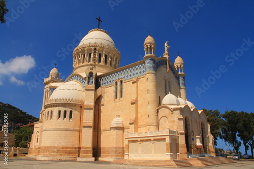 Wall Murals Algeria Eglise Notre dame d'Afrique à Alger, Algérie