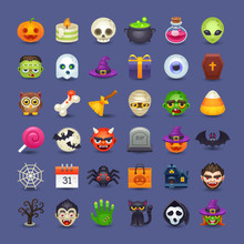 Cute Halloween Icons