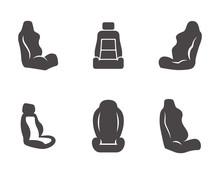 Car Seat Icons