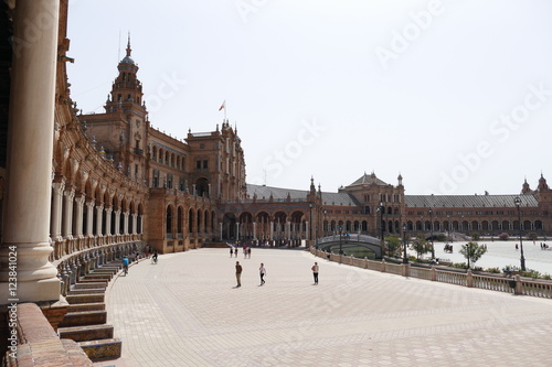 Photo Sevilla, Plaza de Espana