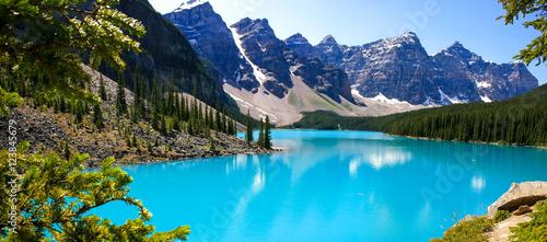 Papiers peints Canada lac émeraude