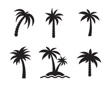 Palm Icons Set