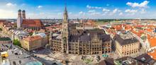Munich City Skyline Panorama, ...