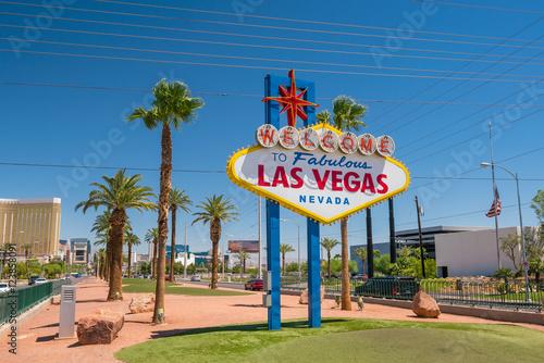 Plakat Znak Las Vegas