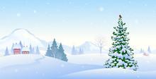 Winter Morning Background
