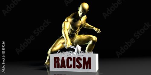 Photo  Racism