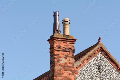 Papiers peints Vin Victorian style chimney pots
