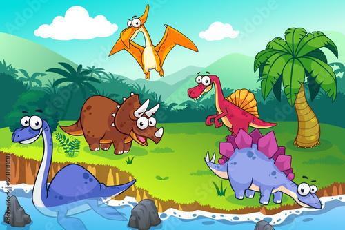 Dinozaur w stanie dzikim
