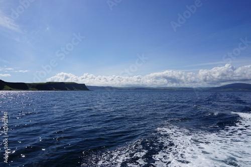 Foto op Plexiglas Arctica Wasser-Landschaft / Fähre nach Rathlin Island - Nordirland