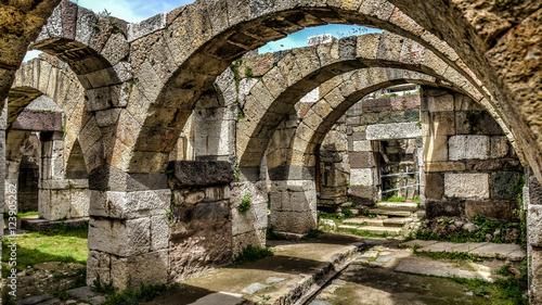 Photo İzmir, Turkey - March 31, 2013: Smyrna was an Ancient Greek city located at Aege