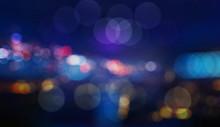 Colorful Defocused Bokeh Light...