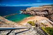 small Abama beach on the west coast of Tenerife