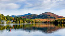 A Panoramic View Of Mirror Lak...